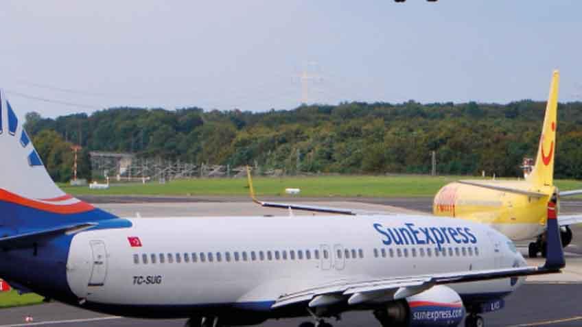 Sitzplätze sunexpress Boeing 737